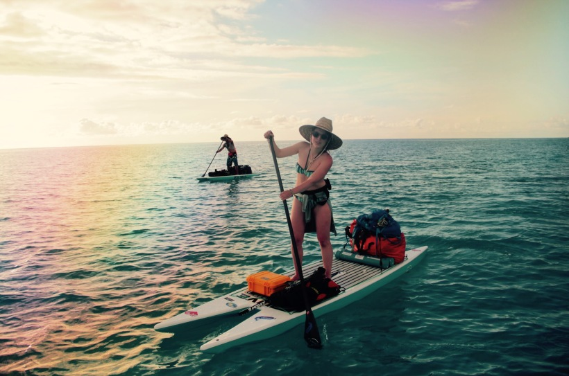 sup expedition Bermuda, fighting plastic pollution   Celine Jennison , Zero Waste VOyager , co-founder of PLastic Tides and founder of ANATO life.com