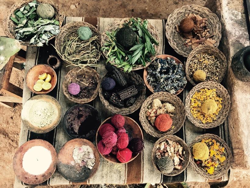 natural dyes _ plant based dyes _ ANATO life . com DIY plant dyes _ zero waste lifestyle _ regenerative skincare